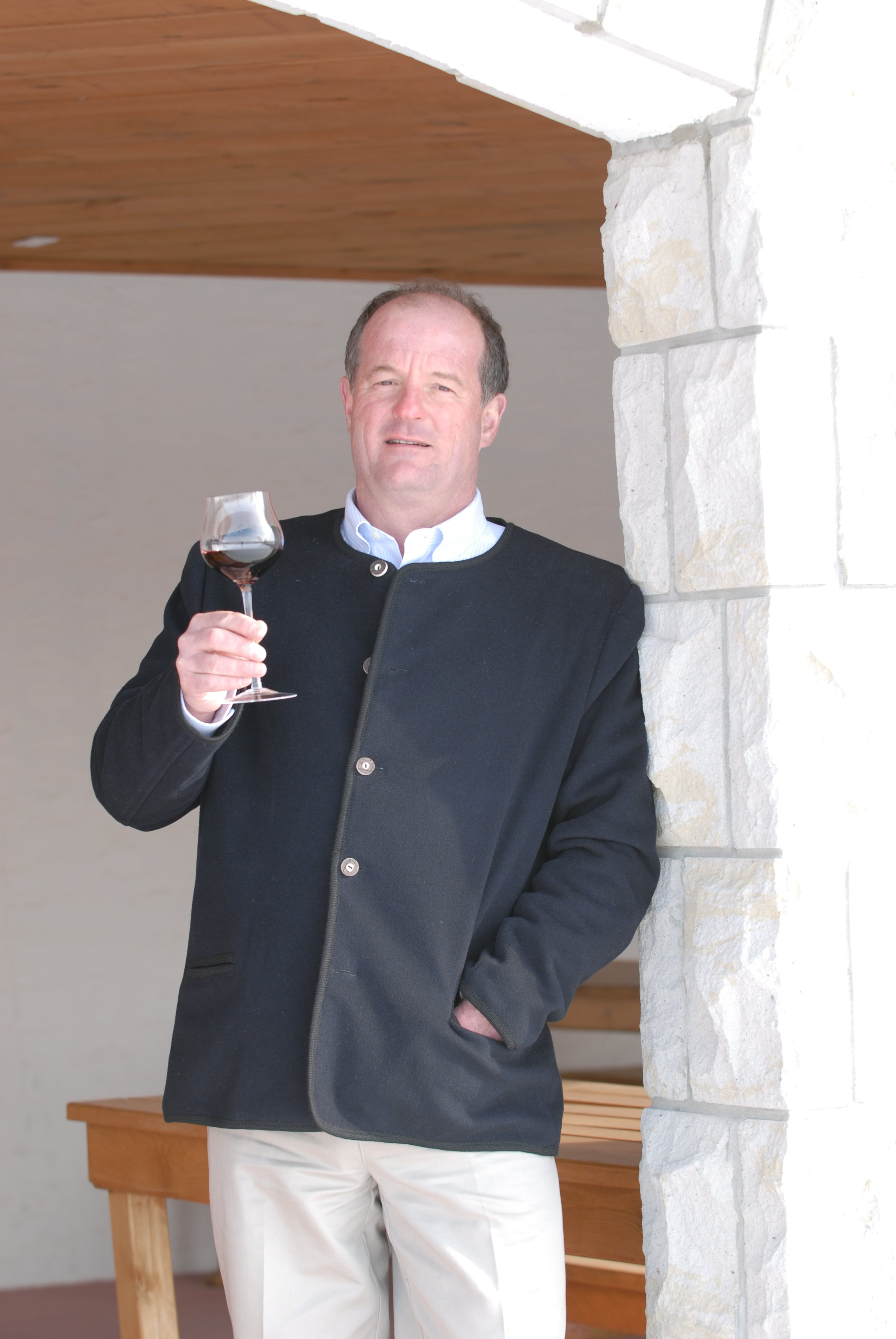 Winemaker and Proprietor Walter Schmoranz of the award winning Pelee Island Winery.