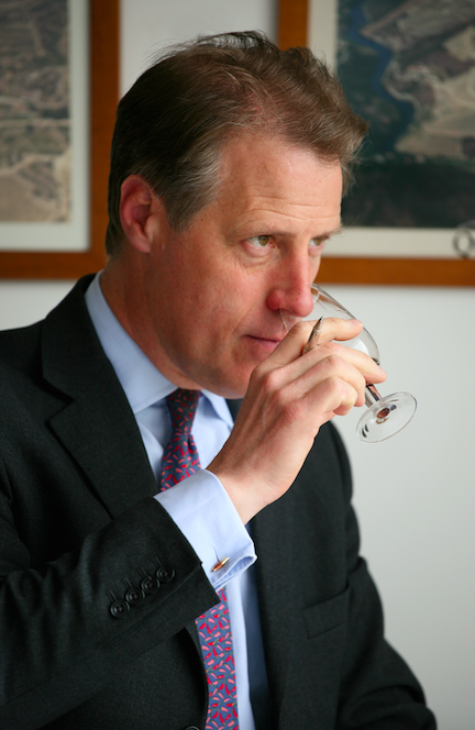 Adrian Bridge, the CEO of Taylor Fladgate.