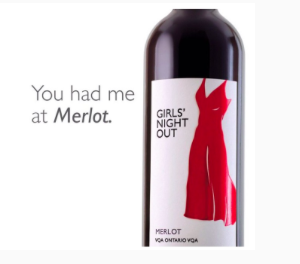 Girl's Night Out Wines. Merlot