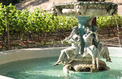 Close Pegasus Renaissance Fountain