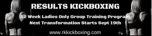Results Kickboxing banner