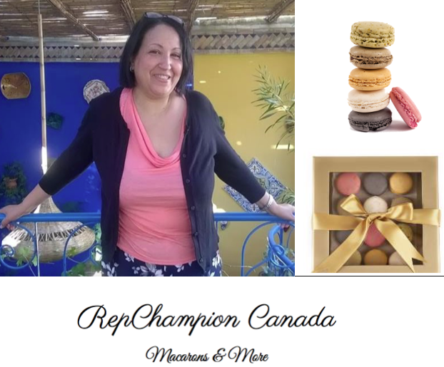 "French treat than Moroccan-Canadian Kaoutsar ""Katsy"" Entifi from RepChampion Canada"