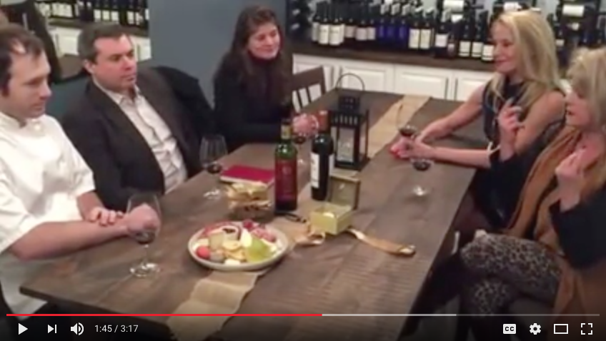 Noble Bistro Bordeaux Winemakers Dinner video