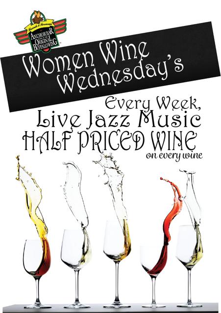 Women, Wine, Wednesday's with Jazz