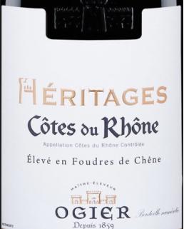 Ogier Heritages Cotes Du Rhone AOC Rhône