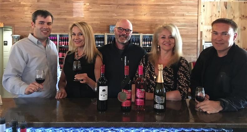 Canada's 150th Birthday Frisky Beaver winery, winemaker Peter Graham.