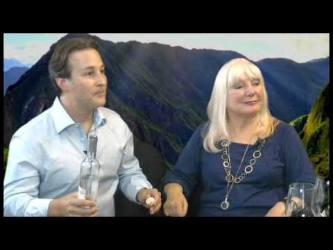 Sara and Adam Waxman, DINE Magazine on The Wine Ladies TV.