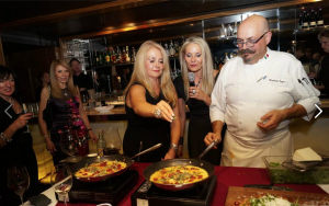 Cooking with Celebrity Chef Massimo Capra, Sopra Lounge