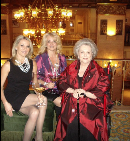 Crystal Awards, Royal York Hotel, actress Shirley Douglas. The Wine Ladies TV.