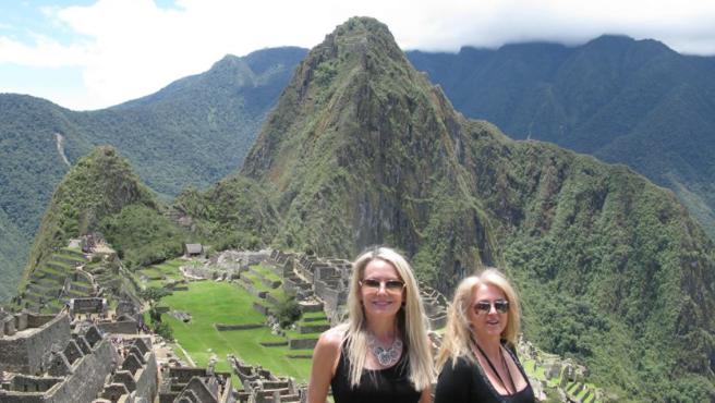 The Wine Ladies in Machu Pichu