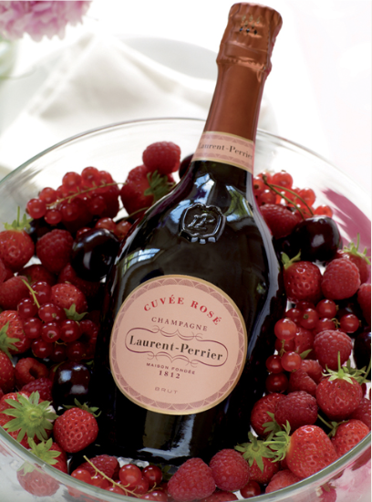 Laurent-Perrier Cuvée Brut Rosé Champagne