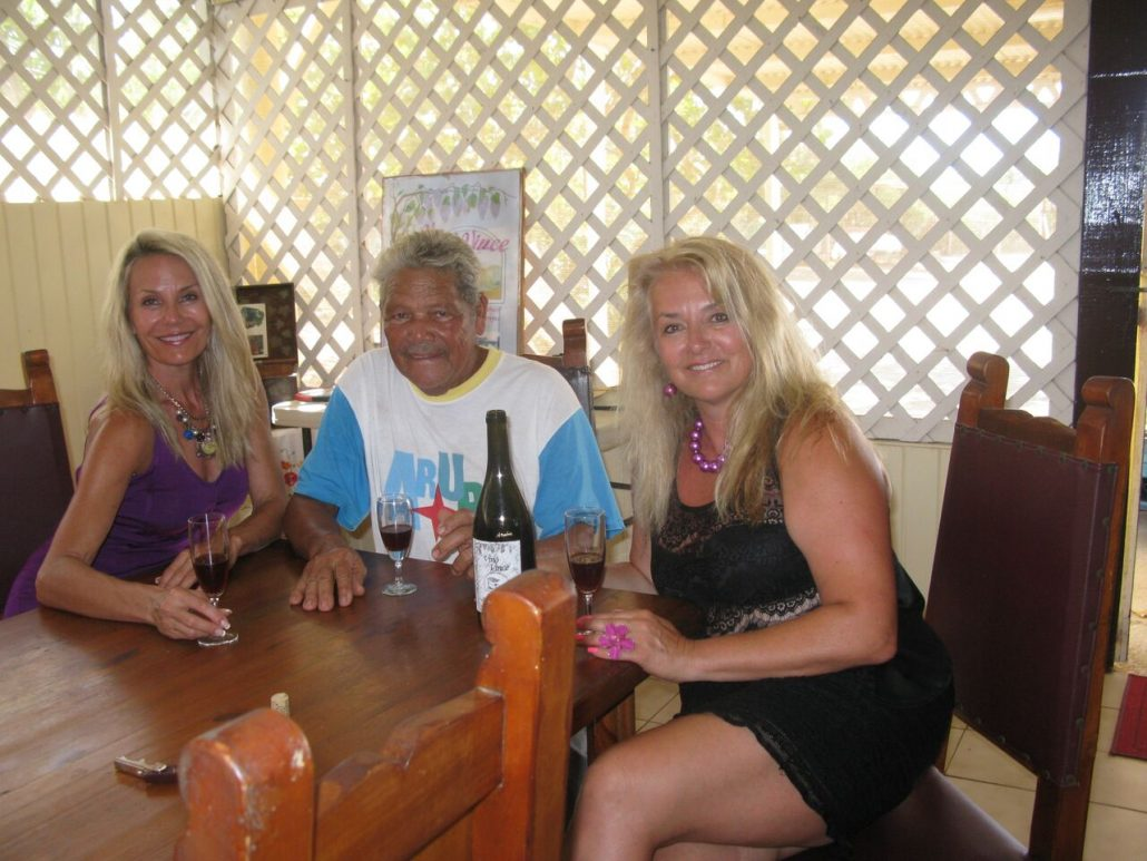 The Wine Wizard, Aruba, The Wine Ladies TV