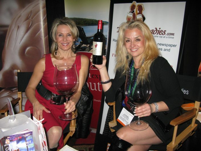 Gourmet Food and Wine Expo, featuring the wine from the Languedoc, France..The Arrogant Frog.