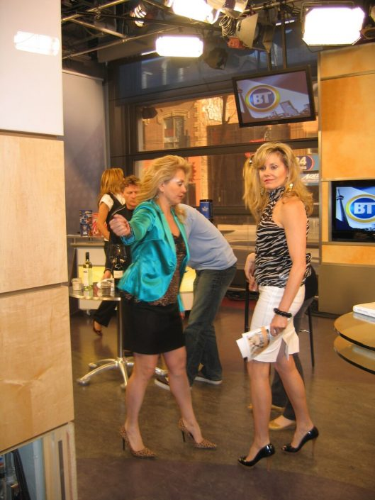Appearance on BT, CITY TV, Toronto
