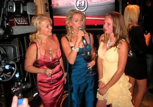 Our TV Show..Talking Wine With The Stars, TIFF,Kelly Wood, Race Car Driver.