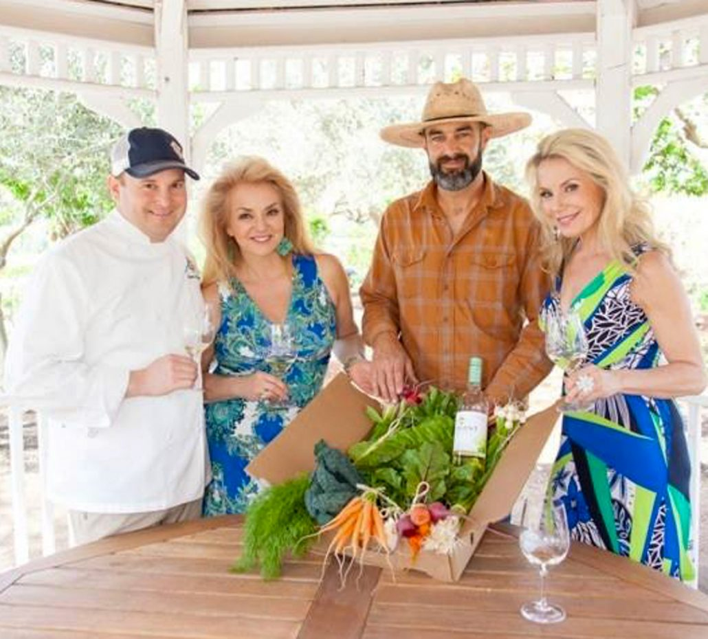 Chef Justin Wangler and Farmer Tucker Taylor, Kendall-Jackson, Sonoma County, California - The Wine Ladies TV