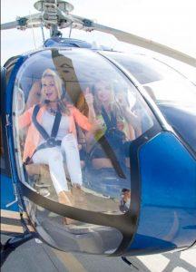 Riding high via Helicopter ,Sonoma County, California.