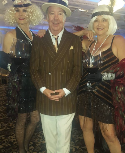"Chateau Le Jardin, ""Great Gatsby"" event with Man About Town, Jody Glazer."