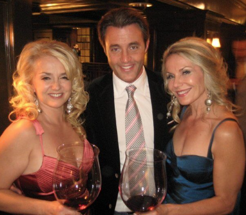 Our show...Talking Wine With The Stars..TIFF... Ben Mulroney