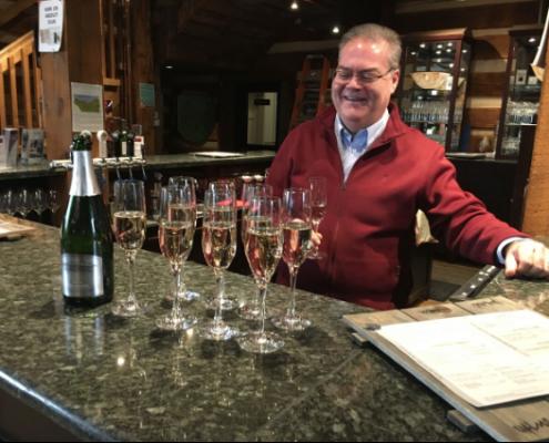 David Hulley, Vineland Estates Winery, Sparkling