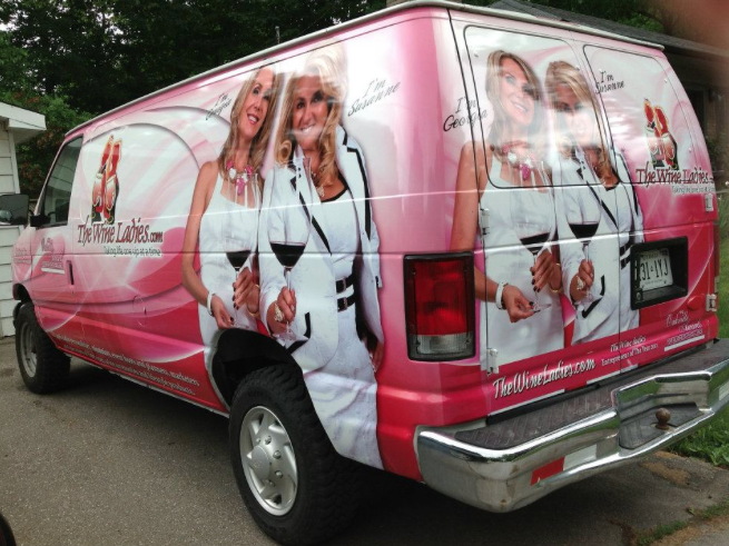 The Wine Ladies Mobile Van