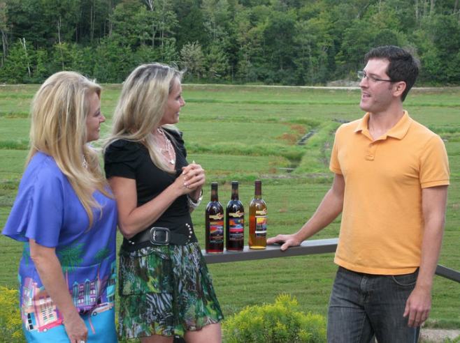 Muskoka Lakes Winery, winemaker Matt French