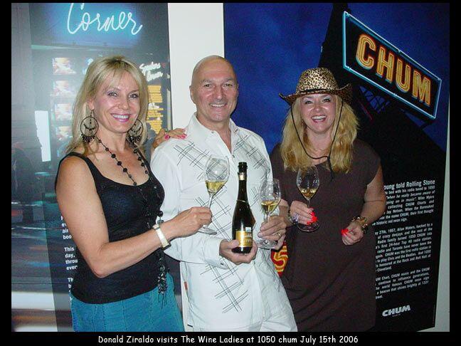 "1050 CHUM guest, Donald Ziraldo, ""Godfather of Icewine"", Founder Inniskillen."