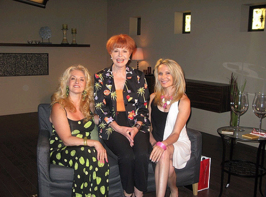 On the TV set of Dear Valerie ROGERS TV with host and relationship expert Valerie Gibson.