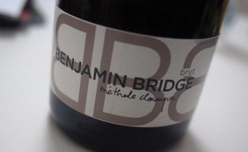 Benjamin Bridge Sparkling Brut 2011