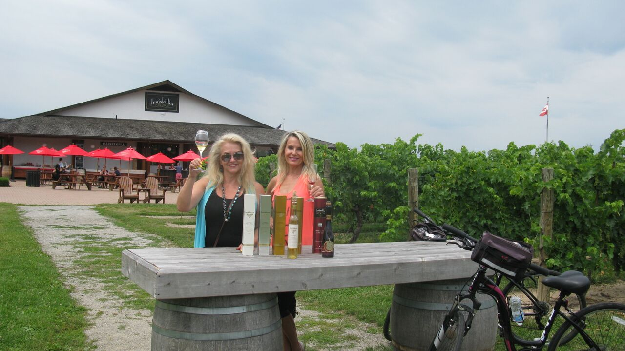 Grape Escape Wine Tour, 2015 at Inniskillin.