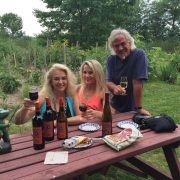 Grape Escape Wine Tour, 2015 at Frogpond