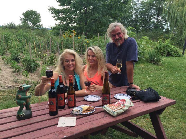 Grape Escape Wine Tour, 2015 at Frogpond