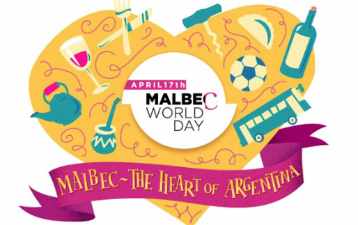 Malbec World Day, Heart of Argentina, April 17, 2018