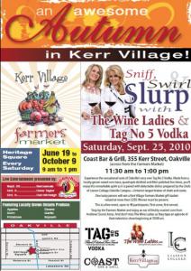 Kerr Village Farmers Market, Kerr Street, Oakville.