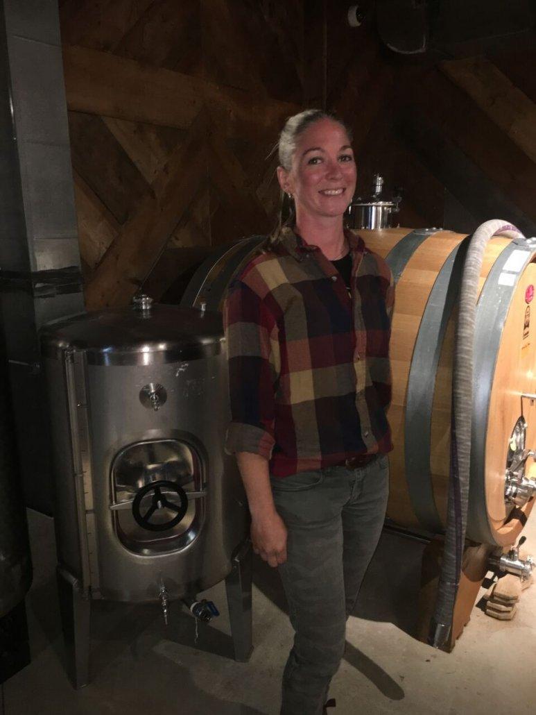 Shauna White winemaker Adamo Estate Winery