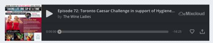 Toronto Caesar Challenge Audio Podcast