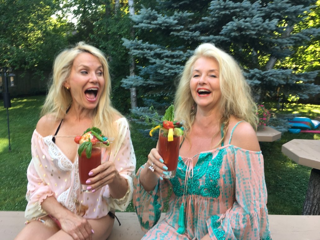 Canada Day Backyard BBQ Celebration. Testing some our own Caesars in preparation for the Toronto Caesar Challenge July 7, 2018.