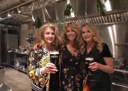 The Wine Ladies meet Celebrity Chef Clodagh McKenna at Dish Cooking School