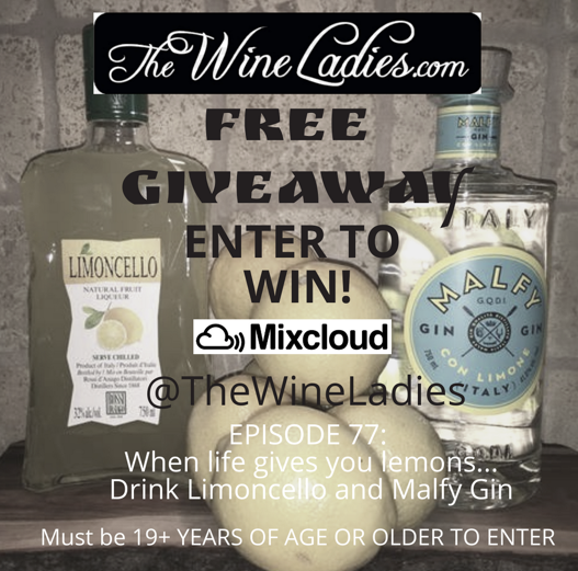 Limoncello and Malfy Gin Giveaway
