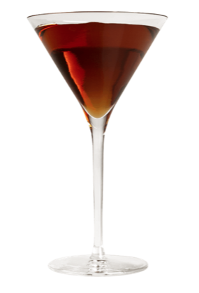 BRANDS: 360 Double Chocolate Vodka, McCormick Irish Cream Liqueur INGREDIENTS: 2.0 oz 360 Double Chocolate,0.5 oz Coffee Liqueur. INSTRUCTIONS: Shake ingredients with ice in a shaker and strain into a martini glass.