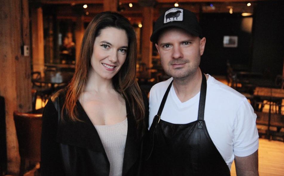Chef Connie De Sousa and Chef John Jackson
