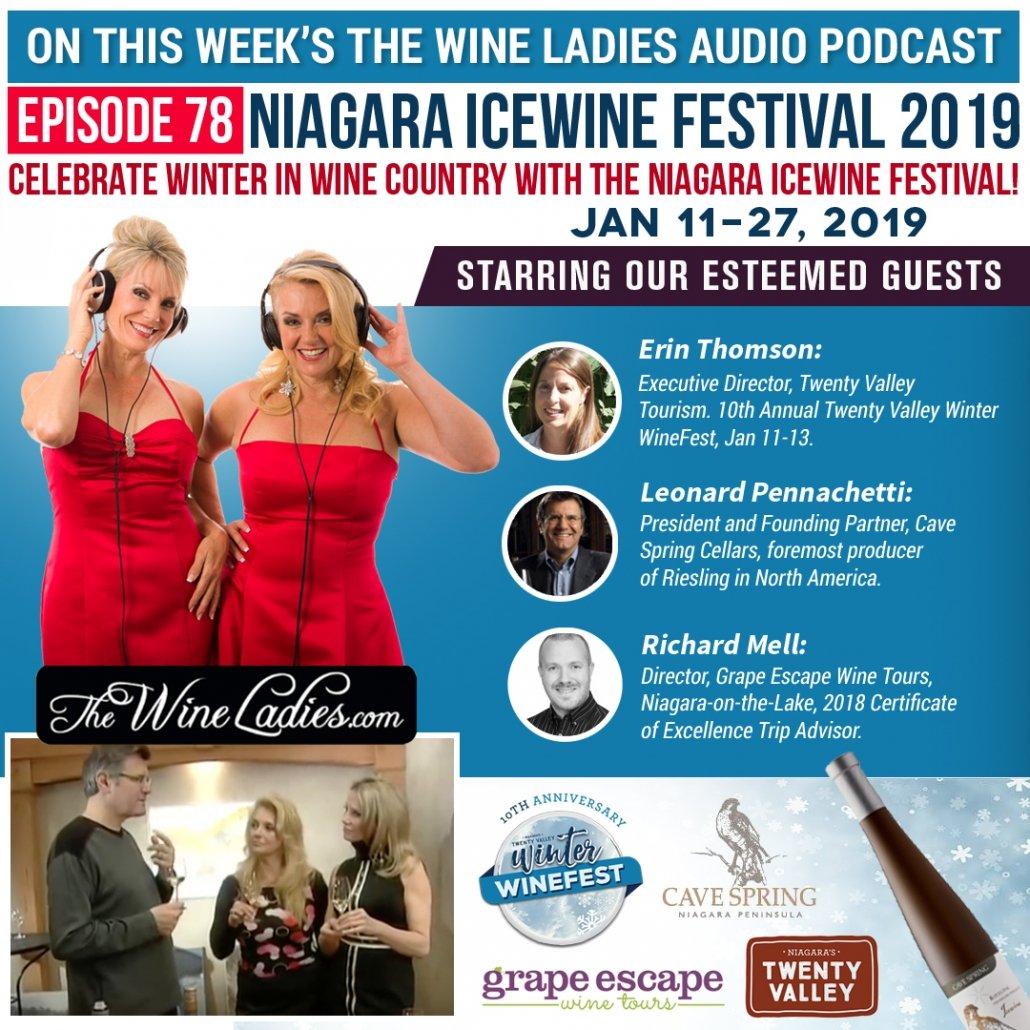Niagara Icewine Festival audiopodcast Jan 2019 Instagram