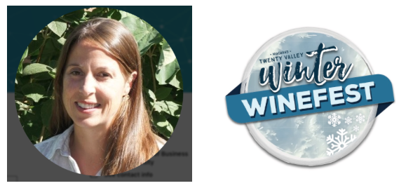 Erin Thomson, Executive Director Twenty Valley Tourism, Winter WineFest 2019