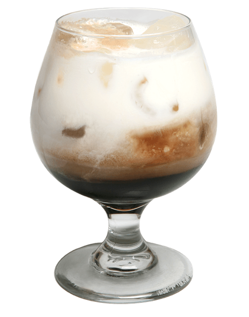 360 DOUBLE CHOCOATE VODKA BULLDOG BRANDS: 360 Double Chocolate Vodka INGREDIENTS: 2.0 oz 360 Double Chocolate, 1.0 oz Coffee Liqueur, Cream, Cola INSTRUCTIONS: Mix ingredients in glass with ice and top with Cola and cream.