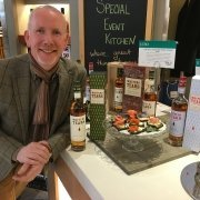Bernard Walsh in Oakville, Ontario showcasing a range of Writers' Tears and The Irishman Whiskey at the local LCBO.