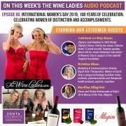 International Women's Day 2019 Audio Podcast with The Wine Ladies