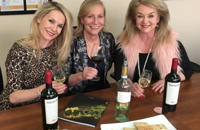 The Wine Ladies meet Marilisa Allegrini.