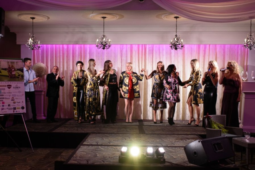 United Way Fashion show finale