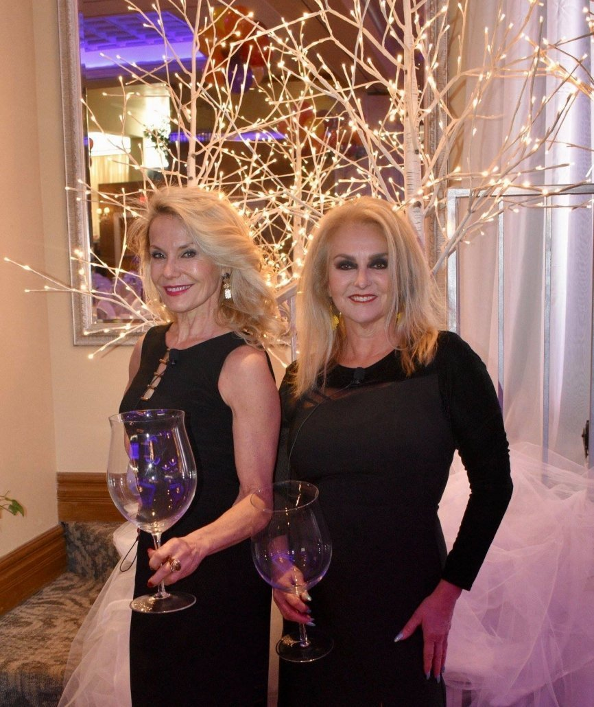 The Wine Ladies Georgia and Susanne were honored to emcee the Zonta Celebrates International Women's Day event,