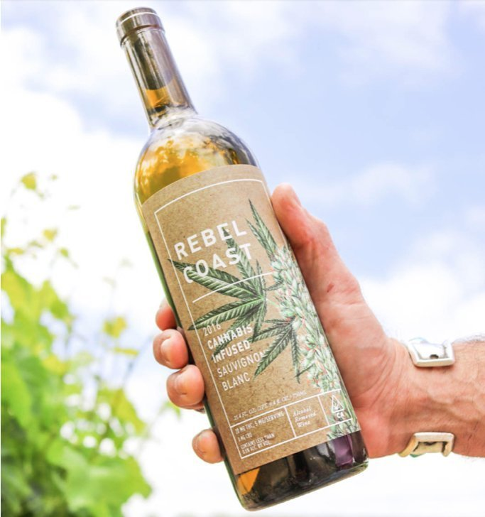 Rebel Coast Cannabis 2016 Sauvignon Blanc.